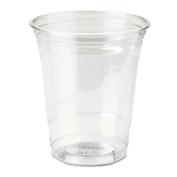 Dixie Clear Plastic PETE Cups Cold 12oz WiseSize 25/Pack 20 Packs/Carton CP12DX