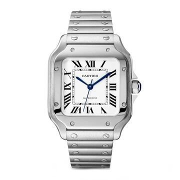 Cartier Unisex WSSA0010 'Santos' Stainless Steel Watch