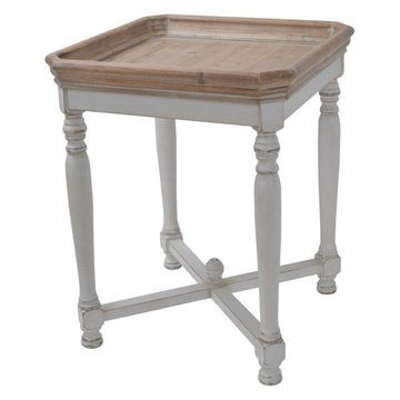 Alcott Side Table, Square, 20x20x25