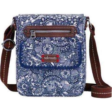 Sakroots Women's Artist Circle Small Flap Messenger Bag Navy Spirit Desert - US Women's One Size (Size None)