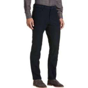 Pronto Uomo Navy Five-Pocket Casual Pants