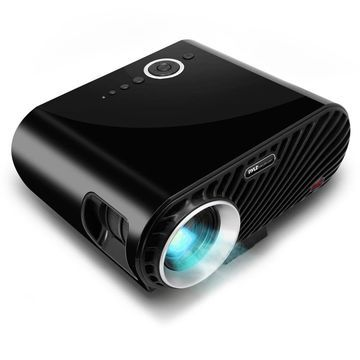Pyle Portable Multimedia Home Theater Projector - HD 1080p LED with USB HDMI Digital Data System Pro