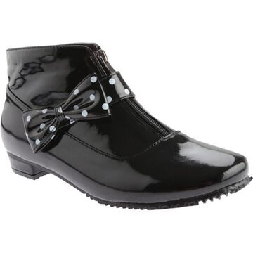 Beacon Shoes Women's Rainbow Black Polyurethane