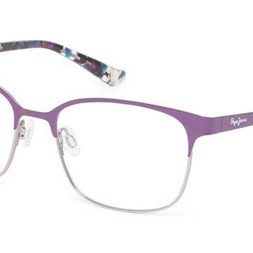 Pepe Jeans PJ1301 C2 Men's Glasses Violet Size 53 - Free Lenses - HSA/FSA Insurance - Blue Light Block Available