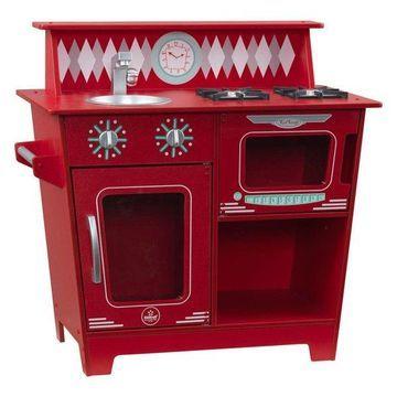 Kidkraft Classic Kitchenette in Red