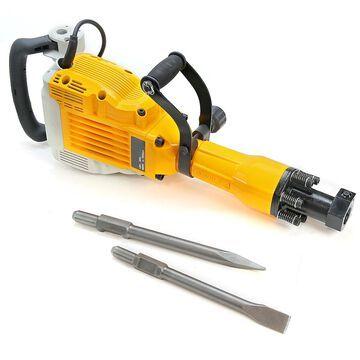 3600W Electric Demolition Jack Hammer Concrete Breaker Punch + Chisel Bit Kit