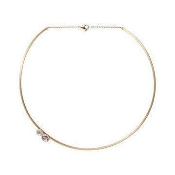 Marco Bicego 18K Yellow Gold Structured Gemstone Necklace