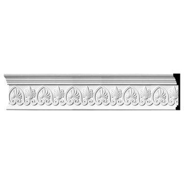 Ekena Millwork 7.75-in x 8-ft Primed Polyurethane Crown Moulding