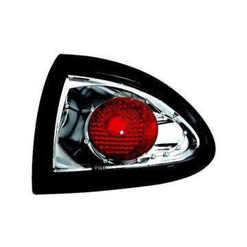 IPCW 95-02 Pontiac Sunfire Tail Lamps 4 Door (2 ps.Outer) Chrome CWT-CE306C Pair