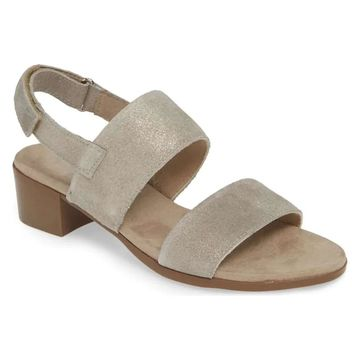 Munro Womens Kristal Suede Open Toe Casual Ankle Strap Sandals