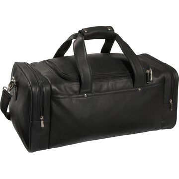 Royce Leather Large 21-inch Carry On Sports Duffel Bag