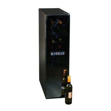 Koolatron 18-Bottle Urban Series Dual Zone Wine Cellar in Black