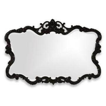 Howard Elliott Talida Mirror in Black