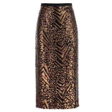 Antonio Marras Skirt Pencil W/paillettes