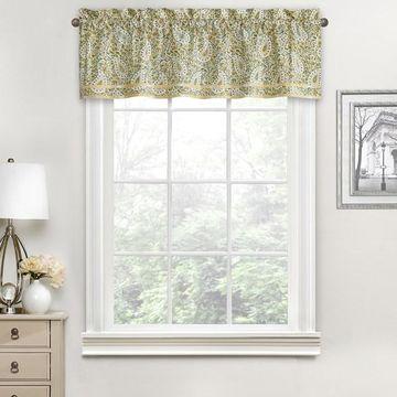 Waverly Paisley Verveine Window Valance