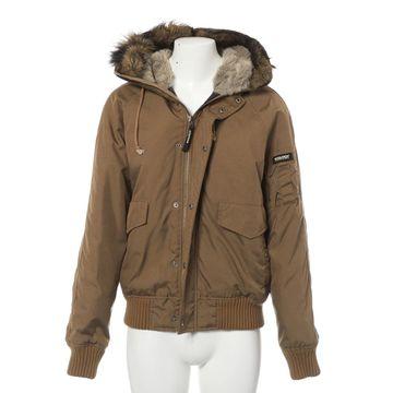 Woolrich Khaki Synthetic Jackets
