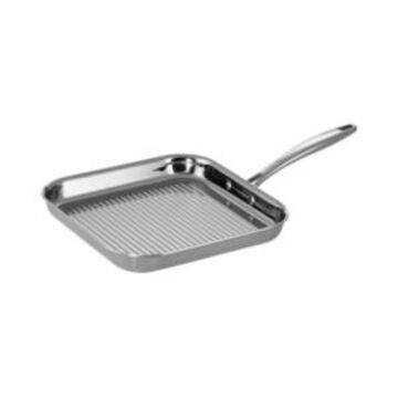 Tramontina Gourmet Tri-Ply Clad 11 in Square Grill Pan