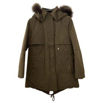The Kooples \N Khaki Polyester Coats