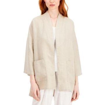 Eileen Fisher Organic Linen Jacket