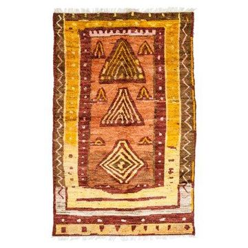 Solo Rugs One-of-a-kind Tullu Hand-knotted Area Rug 5' x 8'