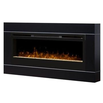 Dimplex DT1267BLK Cohesion Electric Wall-Mounted Fireplace Surround - Black