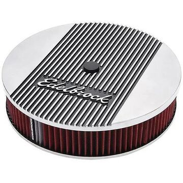 E11-4266 14 in. Elite 2 Series, Air Cleaner - Polished