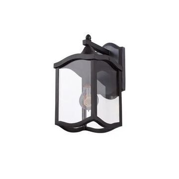 """Kalco Lakewood Outdoor 13"""" Outdoor Wall Light in Aged Iron"""