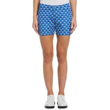 Pga Tour Women's Geo-Print Golf Shorts