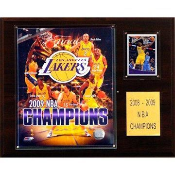 C&I Collectables NBA 12x15 Los Angeles Lakers 2009 NBA Champions Plaque