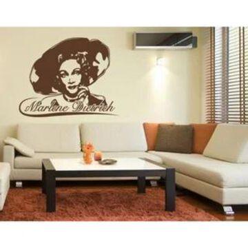 Marlene Dietrich Wall Decal Vinyl Art Home Decor