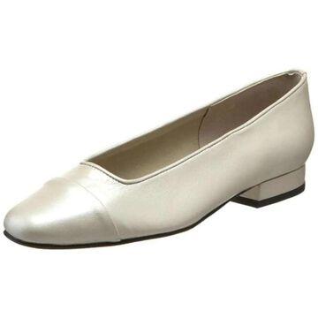 Vaneli Womens Frankie Closed Toe Slide Flats - 9.5