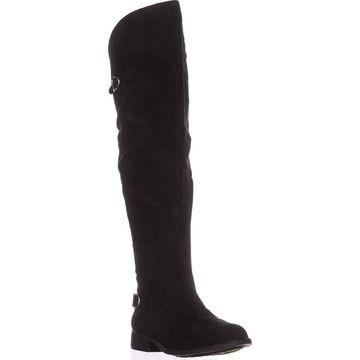 American Rag Womens Adarra Leather Round Toe Over Knee