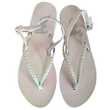 Ancient Greek Sandals \N Beige Leather Sandals