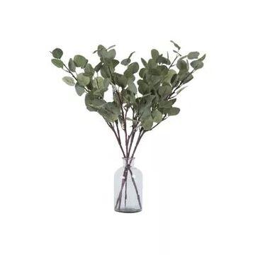 Vickerman Flocked Leaves Spray - Set Of 4 -
