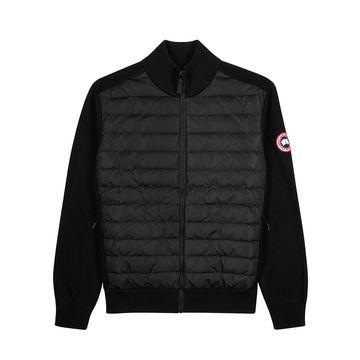 HyBridge black shell and wool jacket