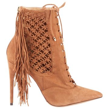 Alexandre Birman Brown Suede Ankle boots