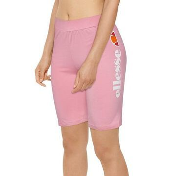 Ellesse SMU Bike Shorts - Pink / White