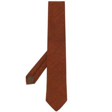 plain texture tie