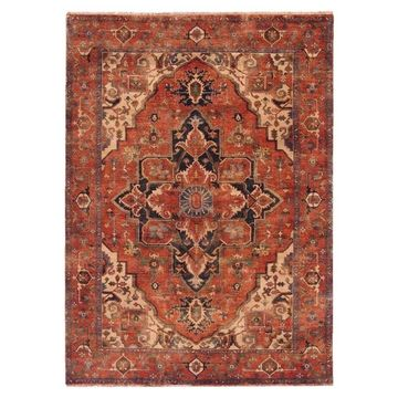Exquisite Rugs Serapi Red New Zealand Wool Rug