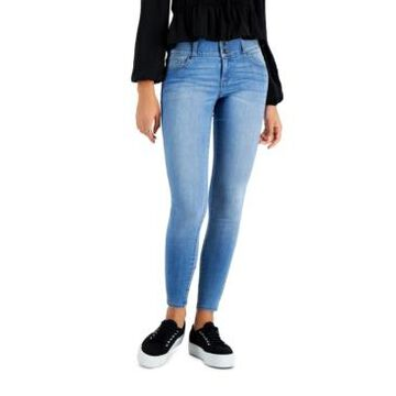 Celebrity Pink Juniors' Curvy Skinny Ankle Jeans