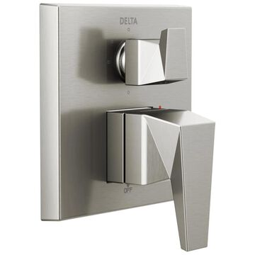 Delta Trillian 0.5-in Stainless Bathtub/Shower Trim Ring | T24843-SS