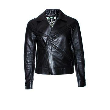 Kenzo Black Leather Jackets