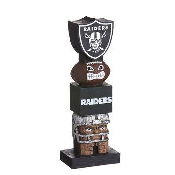 Oakland Raiders Tiki Totem 2018