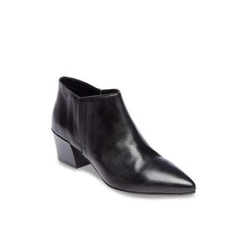 Steven by Steve Madden Womens Million Leather Pointed Toe Ankle Fashion Boots