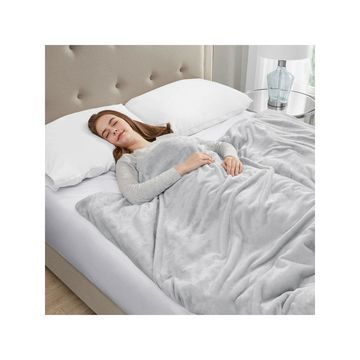 Sleep Philosophy Plush Removable Cover Weighted Blanket