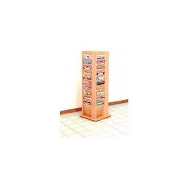 40 Magazine Rotary Floor Display