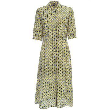 Aspesi Printed Dress 3/4s Chemisier