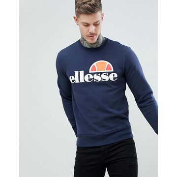 ellesse sweatshirt with classic logo in navy