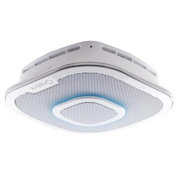 First Alert Safe and Sound Smart Hardwired Smoke and Carbon Monoxide Alarm and Premium Home Speaker with Amazon Alexa Enabled