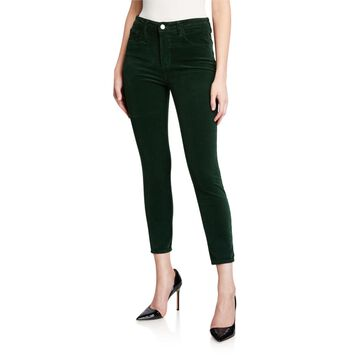 Margot Corduroy High Rise Skinny Pants